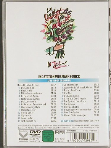 Couplet-AG: Endstation Wurmannsquick, FS-New, ZYX(DVD KC 1002), ,  - DVD - 20091 - 12,50 Euro