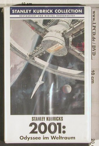 2001 Odysee im Weltraum: Stanley Kubrick Collection, FS-New, WB(650091), EU, 2001 - VHS - 20246 - 7,50 Euro