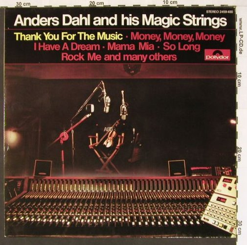 Dahl,Anders and his Magic Strings: Thank you for the Music, Polydor(2459 400), D, 79 - LP - B7813 - 7,50 Euro