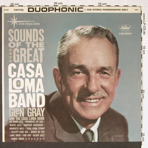 Casa Loma Band / Glen Gray: Sounds Of The Great, Anpressung, Capitol(83662), D,m-/vg+, 1964 - LP - C9046 - 9,00 Euro