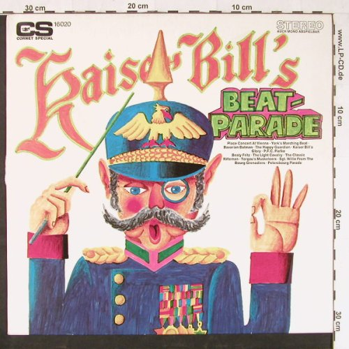 Kaiser Bill - Uwe Borns Singers...: Bill's Beatparade, Cornet SP(16 020), D,  - LP - E1352 - 5,00 Euro