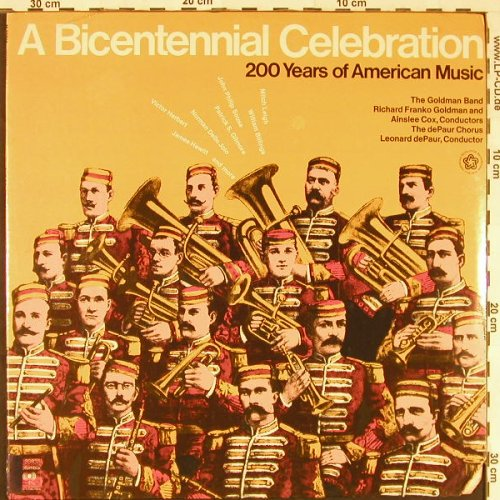 V.A.A Bicentennial Celbration: 200 Years of American Music, FS-New, CBS(M 33838), US, co, 1975 - LP - E1826 - 7,50 Euro