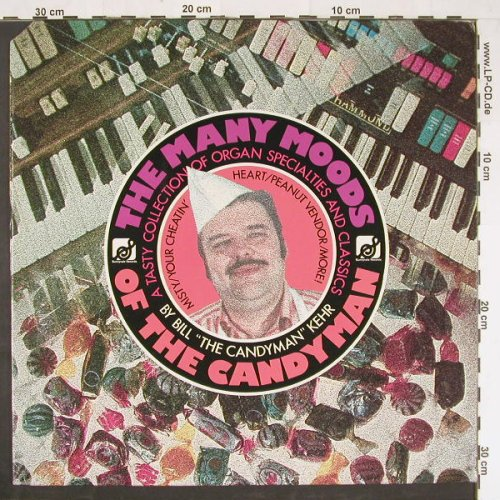 Kehr,Bill: Many Moods of the Candyman, co, Sunnyvale Rec.(9330-318), US, 1977 - LP - E884 - 5,00 Euro