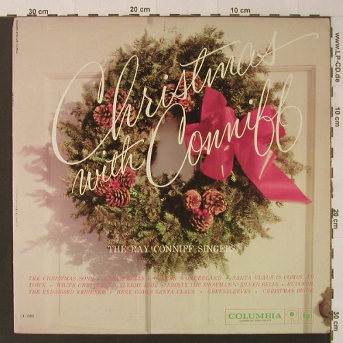 Conniff,Ray & Singers: Christmas with Conniff, Columbia(CL 1390), US,  - LP - F4562 - 7,50 Euro