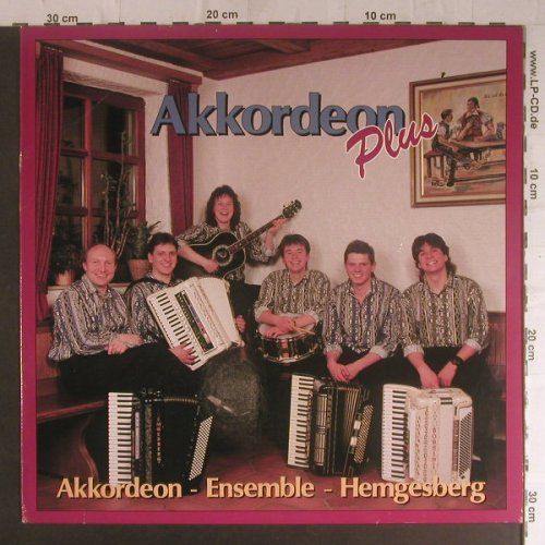 Akkordeon-Ensemble-Hemgesberg: Akkordeon plus(incl.Abba Medley), Koch Intern.(180744), D, m/vg+, 1990 - LP - F5840 - 5,00 Euro