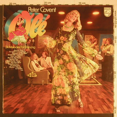 Covent,Peter: Ole', 24 Melodies for Dancing, Philips(6623 047), D,  - 2LP - F6052 - 6,00 Euro
