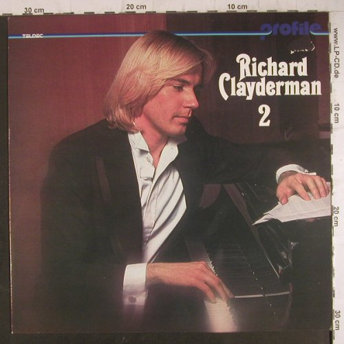 Clayderman,Richard: Profile 2, Teldec(6.24382 AL), D,  - LP - F6486 - 4,00 Euro