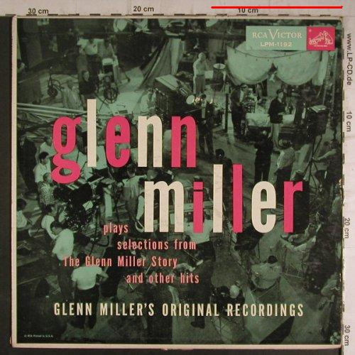 Miller,Glenn: Play Selections From t-G.M.Story, RCA(LPM-1192), US,m-/vg+,  - LP - F7109 - 7,50 Euro