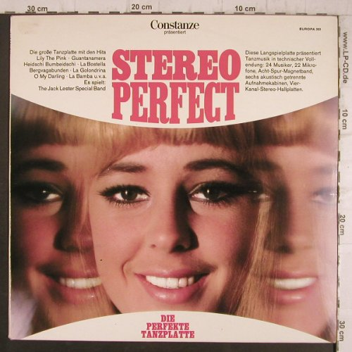 Lester Special Band,Jack: Stereo Perfect, Europa(E 353), D,  - LP - F8363 - 5,00 Euro