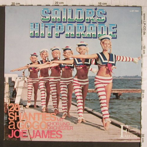 James,Jo mit Chor und Orch.: Sailors Hitparade,28Shanties a gogo, Falcon(L-ST 7085), D,  - LP - F8413 - 5,50 Euro