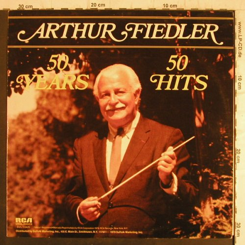 Fiedler,Arthur: 50 Years 50 Hits, RCA Special Products(DVL 1-0420), US, Ri, 1979 - LP - F8545 - 5,00 Euro