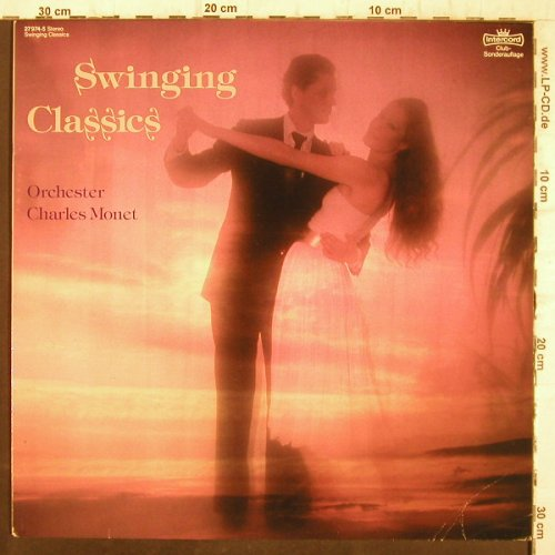 Monet Orchester,Charles: Swinging Classics, Clubauflage, Intercord(27 974-5), D, 1984 - LP - F8972 - 5,00 Euro
