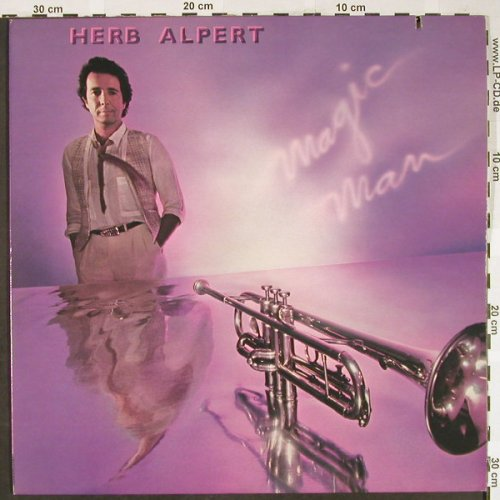 Alpert,Herb: Magic Man, AM(SP-3728), US, Co, 1981 - LP - H1895 - 6,00 Euro