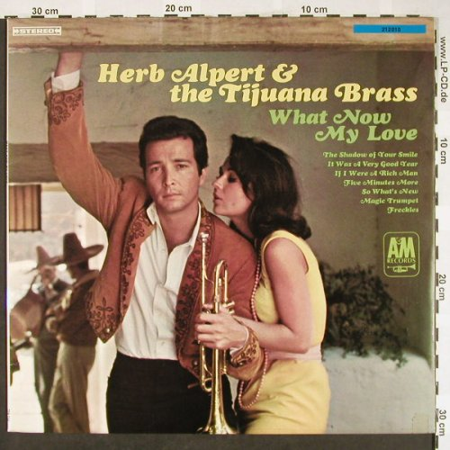 Alpert,Herb & Tijuana Brass: What Now My Love, vg+/vg+, AM(212 010), D,  - LP - H1901 - 5,00 Euro