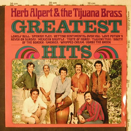 Alpert,Herb & Tijuana Brass: Greatest Hits, AM(NP 125), NL, 1970 - LP - H3975 - 4,00 Euro