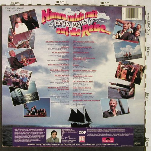 Last,James: Nimm mich mit,Käptn James..., Polydor(821 994-1), D, 1982 - LP - H5226 - 5,00 Euro