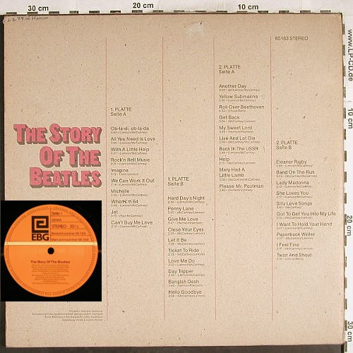 Carnabees: The Story Of The Beatles by,Foc, EBG(65163), D,vg+/vg+,  - 2LP - H7478 - 7,50 Euro