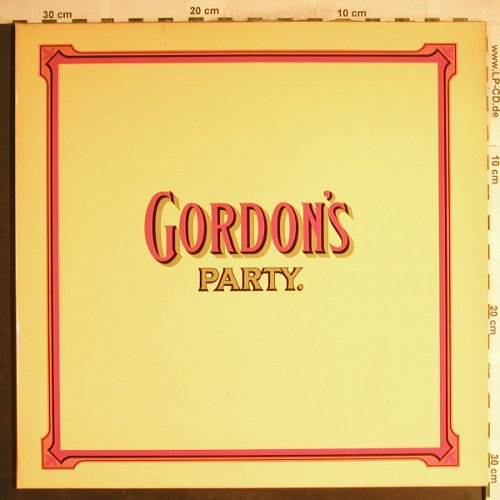 V.A.Gordon's Party: J..C.Borelly..Serg.Crackers Band, Gordons/Tedec(66.21475), D, Foc, 1977 - LP - H7670 - 7,50 Euro