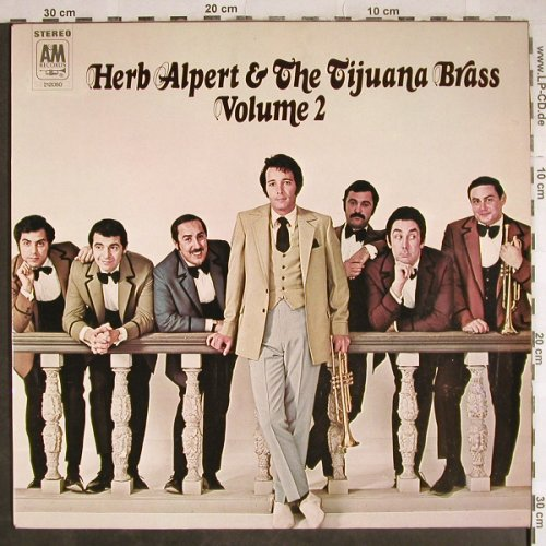 Alpert,Herb & Tijuana Brass: Volume 2, AM(212 050), D, 1968 - LP - H8042 - 6,00 Euro