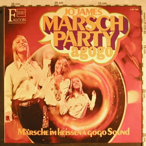 James,Jo - Bigband & Chor: Marsch Party à gogo, Falcon(L-ST 7083), D,  - LP - H8738 - 5,00 Euro