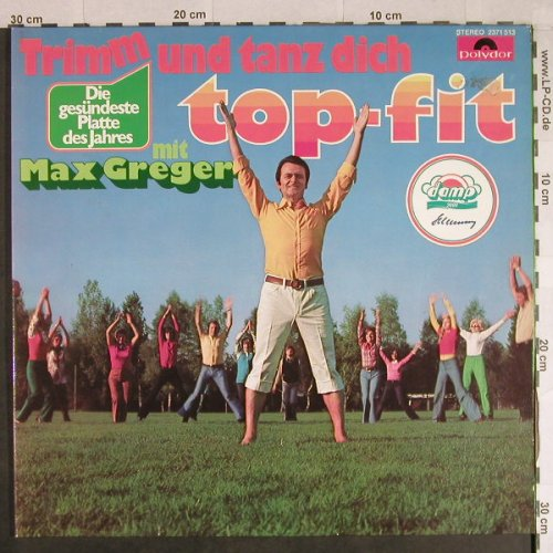 Greger,Max: Trimm und Tanz dich fit, Foc, Polydor(2371 513), D, 1973 - LP - H909 - 5,00 Euro