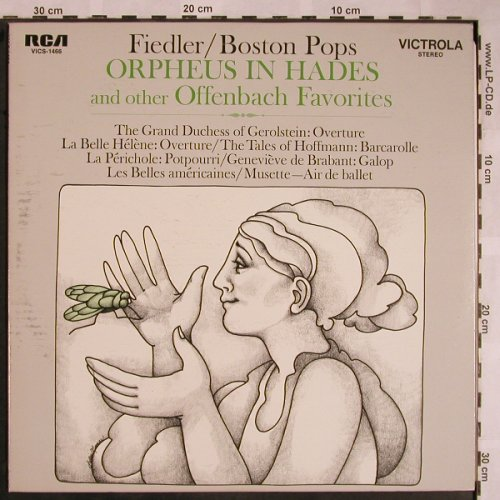 Fiedler,Arthur & Boston Pops: Orpheus in Hades..and other..,stoc, RCA Victrola(VICS-1466), US, m-/vg+, 1969 - LP - X1499 - 5,00 Euro