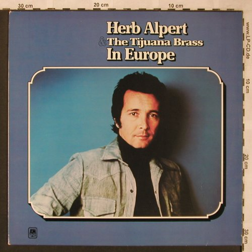 Alpert,Herb & Tijuana Brass: In Europe, AM(88 315 IT), NL,  - LP - X2008 - 6,00 Euro