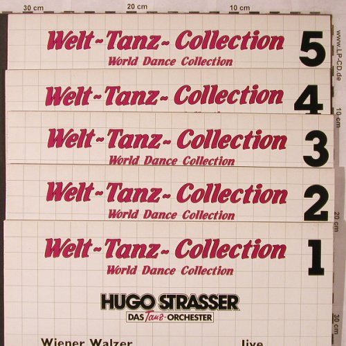 Strasser,Hugo & Tanz-Orch.: Welt-Tanz-Collection 1-5, Extra/Con Disc(F 669.950), D, 1987 - LP*5 - X2637 - 20,00 Euro