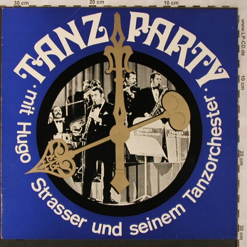 Strasser,Hugo & Tanz-Orch.: Tanzparty mit, woc, Fono-Ring(SFGLP 78 147), D,  - LP - X2706 - 5,50 Euro