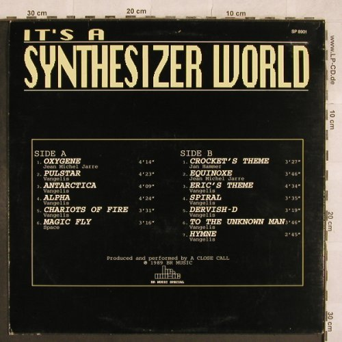 A Close Call: It's a Synthesizer Word, BR Music(SP 8901), B, 1989 - LP - X309 - 5,50 Euro