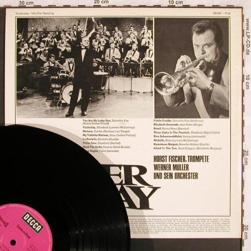 V.A.Yesterday - Hits for Dancing: Horst Fischer,Werner Müller & Orch., Decca,Sonderauflage(76 197 - P13), D,  - LP - X3112 - 7,50 Euro
