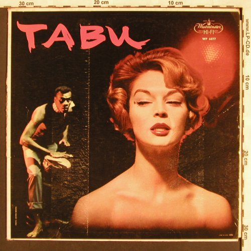 Font,Ralph & his Orch.: Tabu, VG+/VG-, Westminster(WP 6077), US,  - LP - X3458 - 6,00 Euro
