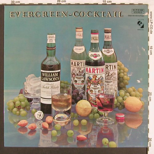 Alzner,Claudius u.s. Solisten: Evergreens-Cocktail, Elite Special(61 322), CH, 1973 - LP - X3477 - 6,00 Euro