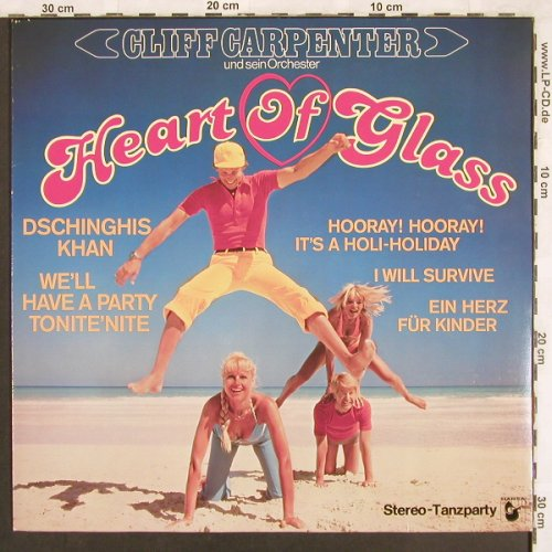 Carpenter,Cliff und s. Orch.: Heart of Glass, Hansa(200 793-241), D, 1979 - LP - X3569 - 5,00 Euro