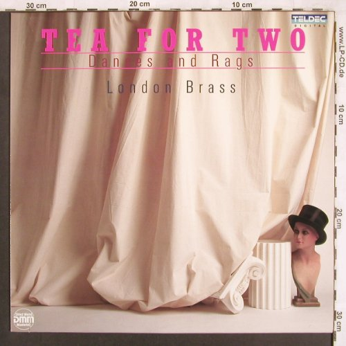 London Brass: Tea for Two - Dances and Rags, Teldec(243 713-1), D, 1988 - LP - X3699 - 6,00 Euro