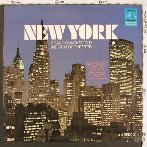 Chacksfield,Frank & his Orch.: New York, Decca(SLK 16 880-P), D,  - LP - X3723 - 6,00 Euro