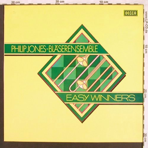 Jones,Philip - Bläserensemble: Easy Winners, Decca(6.42055 AS), D, 1979 - LP - X3724 - 6,00 Euro