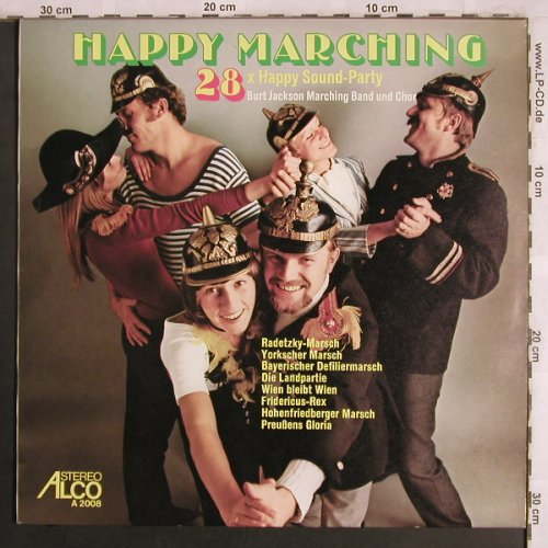 Jackson,Burt - Marching Band & Chor: Happy Marching 28xHappyPartySound, Alco(A 2008), D,  - LP - X4063 - 6,00 Euro