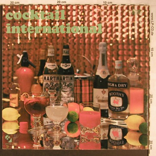 Alzner,Claudius: Cocktail International, Foc, Elite Special(GB 15 661), CH,  - 2LP - X5030 - 7,50 Euro
