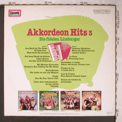 Die Fidelen Limburger - Akkordeon Hits 5