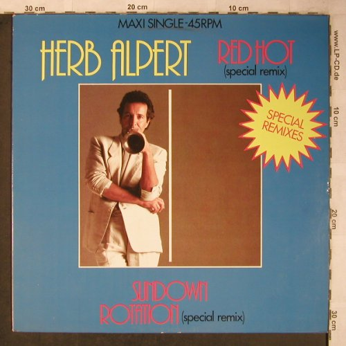 Alpert,Herb: Red Hot/Sundown Rotation, sp.rmx, AM(AMS 12-9726), NL, 1983 - 12inch - X5487 - 3,00 Euro