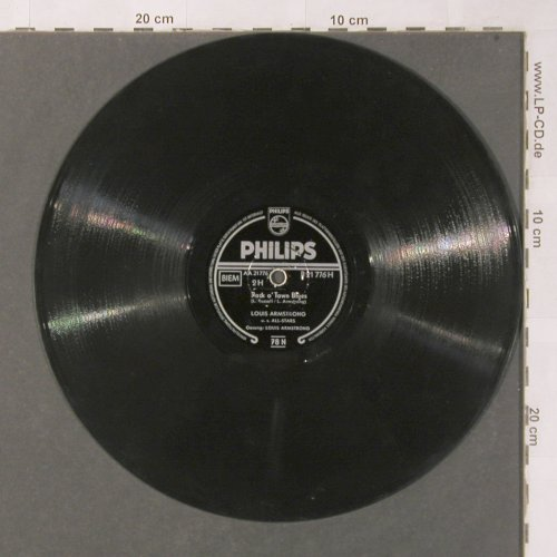 Armstrong,Louis u.s.All-Stars: Mack the Knife, Philips(B 21 776), D,  - 25cm - N455 - 5,00 Euro